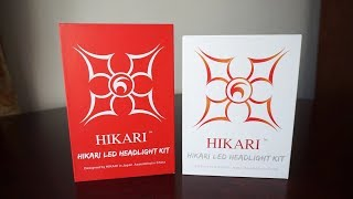 hIKARI 9600lm vs HIKARI Ultra 12000lm 6000k LED H7 Comparison Review