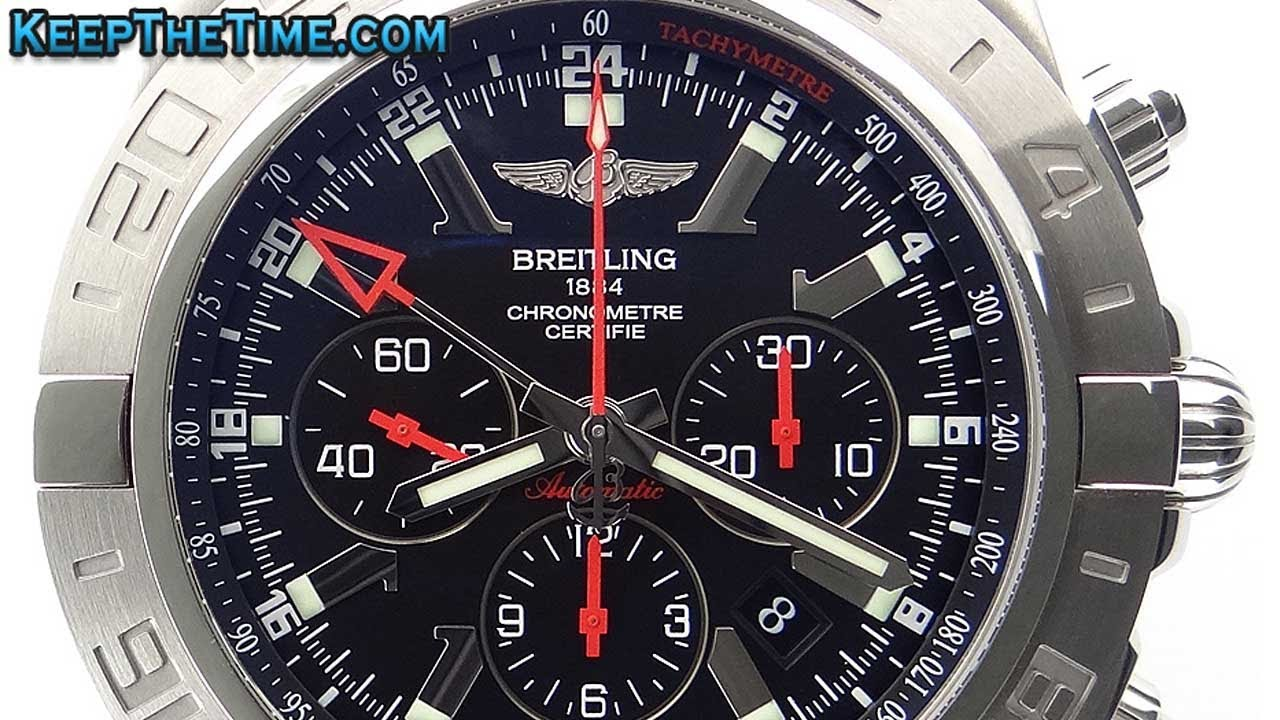 Breitling Special Edition >> Breitling Chronomat GMT Limited Edition AB041210/BB48 (HD Video Review) - YouTube