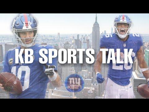 "KB Sports Talk LIVE: Baker Trashes DJ, Odell Thinks Giants Left Him to ""Die"", AB Helmet Saga cont."