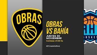 Highlights Obras Basket 75-59 Bahía Basket (30-11-2017)