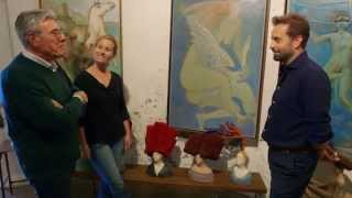 Alfie Boe visits an art studio in Italy!