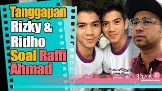 Pendapat Rizky dan Ridho soal Raffi Ahmad