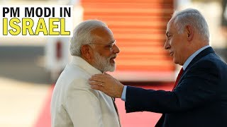 PM Modi receives extraordinary welcome in Israel   Economic Times