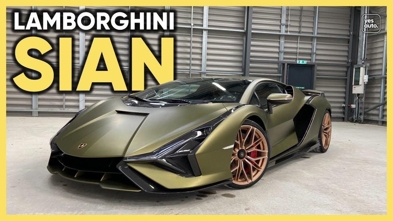 Lamborghini Sian 2021 Review : Listen to this £2m Lambo's V12 scream!