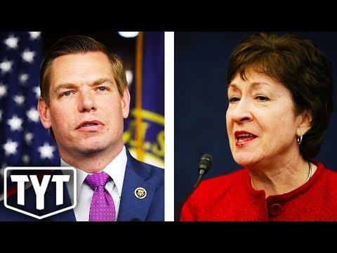 Democrat Mocks Threats Made Against Republican