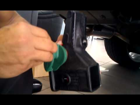 Land Rover Tow Hitch Receiver Installation YouTube