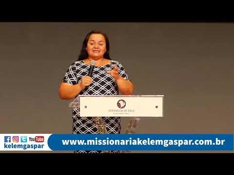 Tema: Deus procura alguém! Missionária Kelem Gaspar