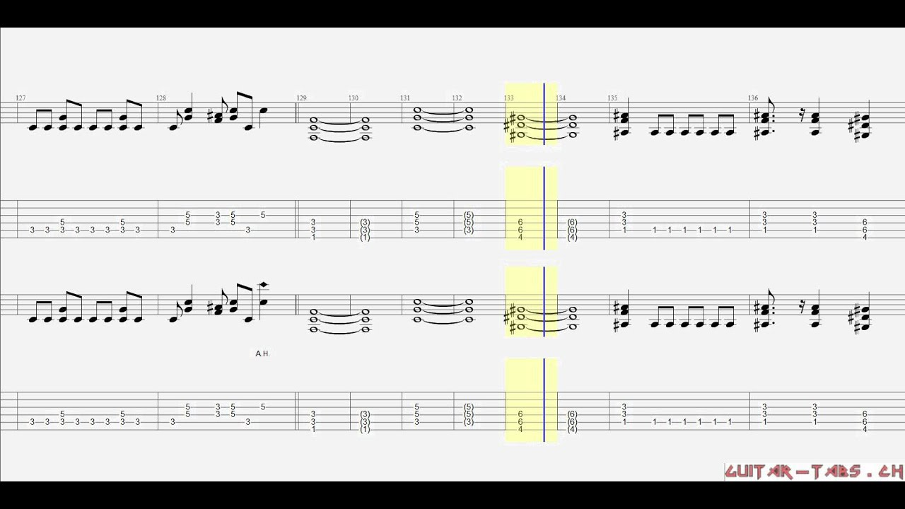 Dragonforce - through the fire and the flames Guitar Pro Tab