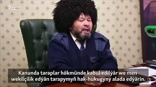"""""""Türkmen bolup doguldym, türkmen bolubam ölerin"""""""