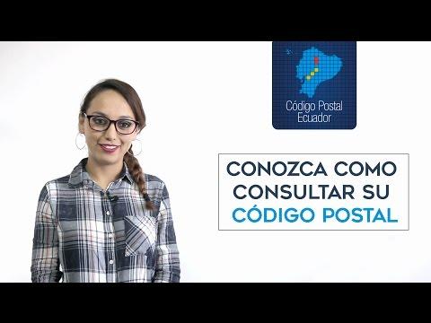 Como consultar su Código Postal Ecuador
