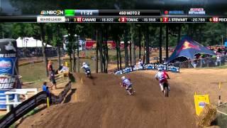 Budds Creek 450 Moto 2: Stewart vs. Tomac vs. Canard