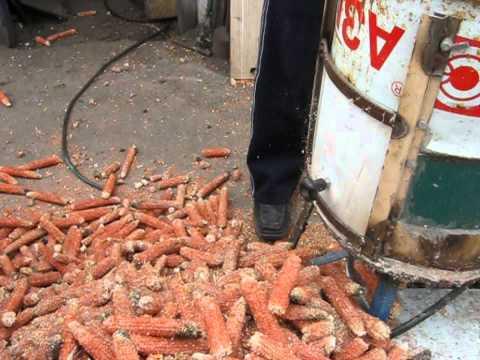 Измельчитель кукурузных стеблей своими руками видео