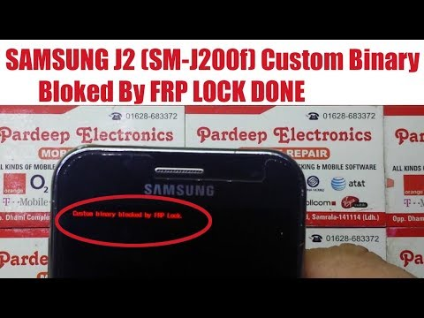 samsung-j2-(sm-j200f)-custom-binary-blocked-by-frp-lock-done- -pardeep-electronics