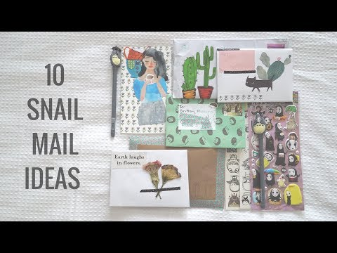 10 Penpal Snail Mail Ideas