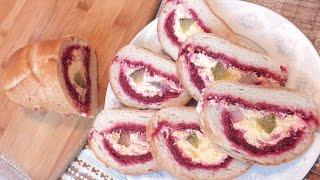Сельдь под шубой в батоне рецепт селёдки под шубой закуска из сельди