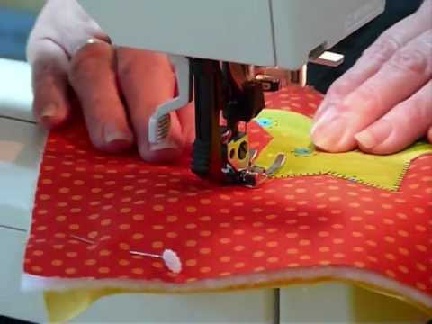 How to make an applique quilt as you go block quilting tips
