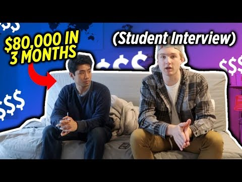 How He Made $80,000 In His First 3 Months Dropshipping (Student Interview)