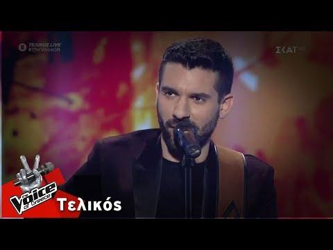 Γιώργος Ευθυμιάδης - You are my sunshine | Τελικός | The Voice of Greece