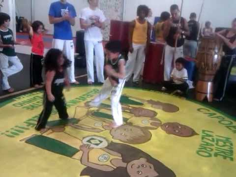 Capoeira Little Girl (3 year old)