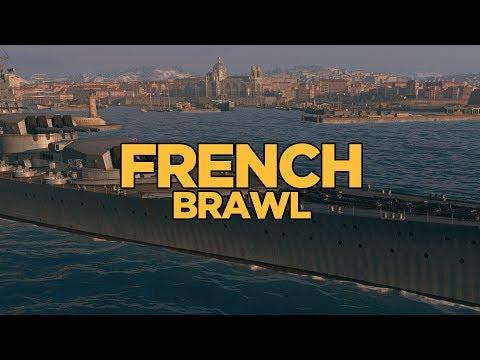 World of Warships - French Brawl
