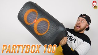 🔥 NEJLEPŠÍ PARTYBOX ZE VŠECH! Tohle je JBL Partybox 100... | WRTECH [4K]