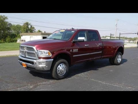 2018 ram 3500 laramie cummins dually for sale dayton troy piqua sidney ohio 28065t youtube. Black Bedroom Furniture Sets. Home Design Ideas