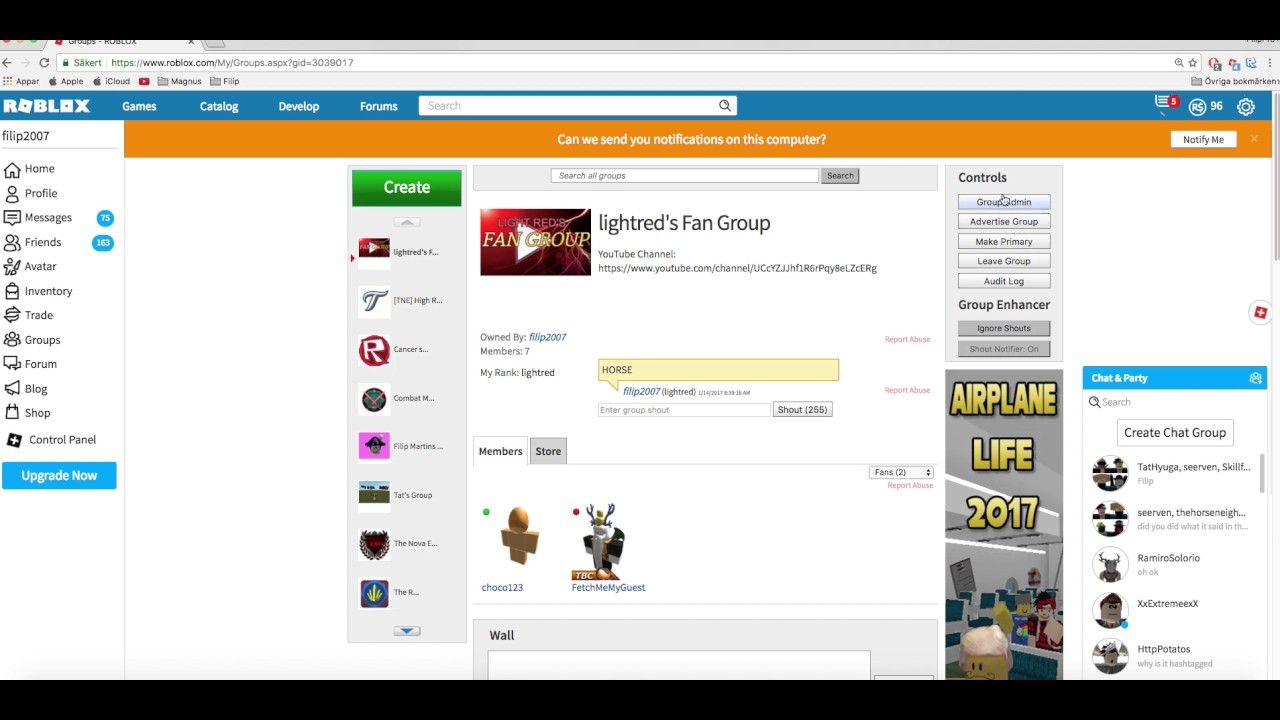 ROBLOX | HOW-TO | Donate Group Funds