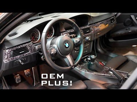 BMW F Series Steering Wheel Fits My E90 3 Series! Install DIY