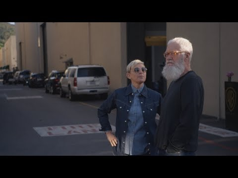 Randi West - Ellen gives David Letterman a tour and they see a Hollywood Legend!