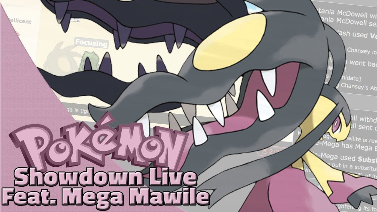 Focus Punch Mega Mawile! Pokemon Sun and Moon OU Showdown Live  W/OPJellicent (Smogon OU)