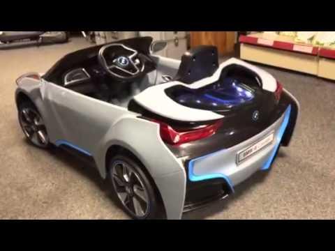 Bmw I8 Ride On Electric Car Turborevs Youtube