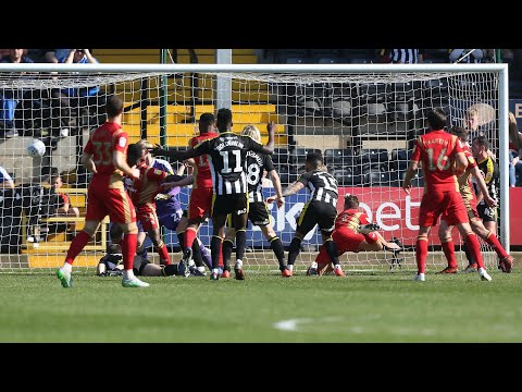 HIGHLIGHTS: Notts County 1-2 MK Dons