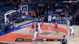 Bucknell MBB vs. Richmond - Highlights