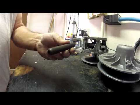 Home made clutch removal tool