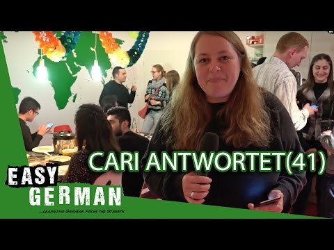 Cari antwortet (41) | At the Easy German Christmas Party