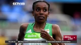 Ethiopia's Almaz Ayana sets new women's 10,000m records