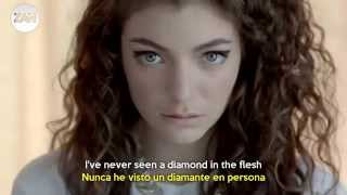 Royals   Lorde (Official Video) Subtitulado en  Español  y  ingles]