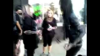 Andy Biersack with fans Sub  Esp