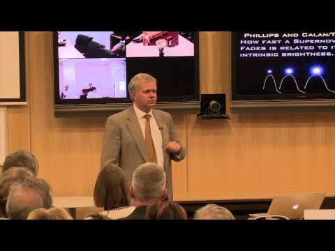Brian Schmidt - The Accelerating Universe & the hunt for dark energy