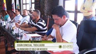 Según concejal, Tren Ligero en Rionegro es solo un negocio