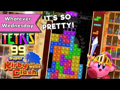 Tetris 99 X Super Kirby Clash