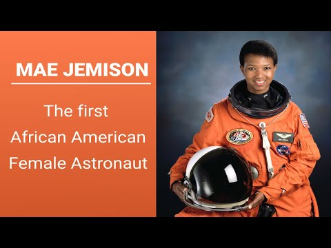 The First African American Astronaut Mae Jemison