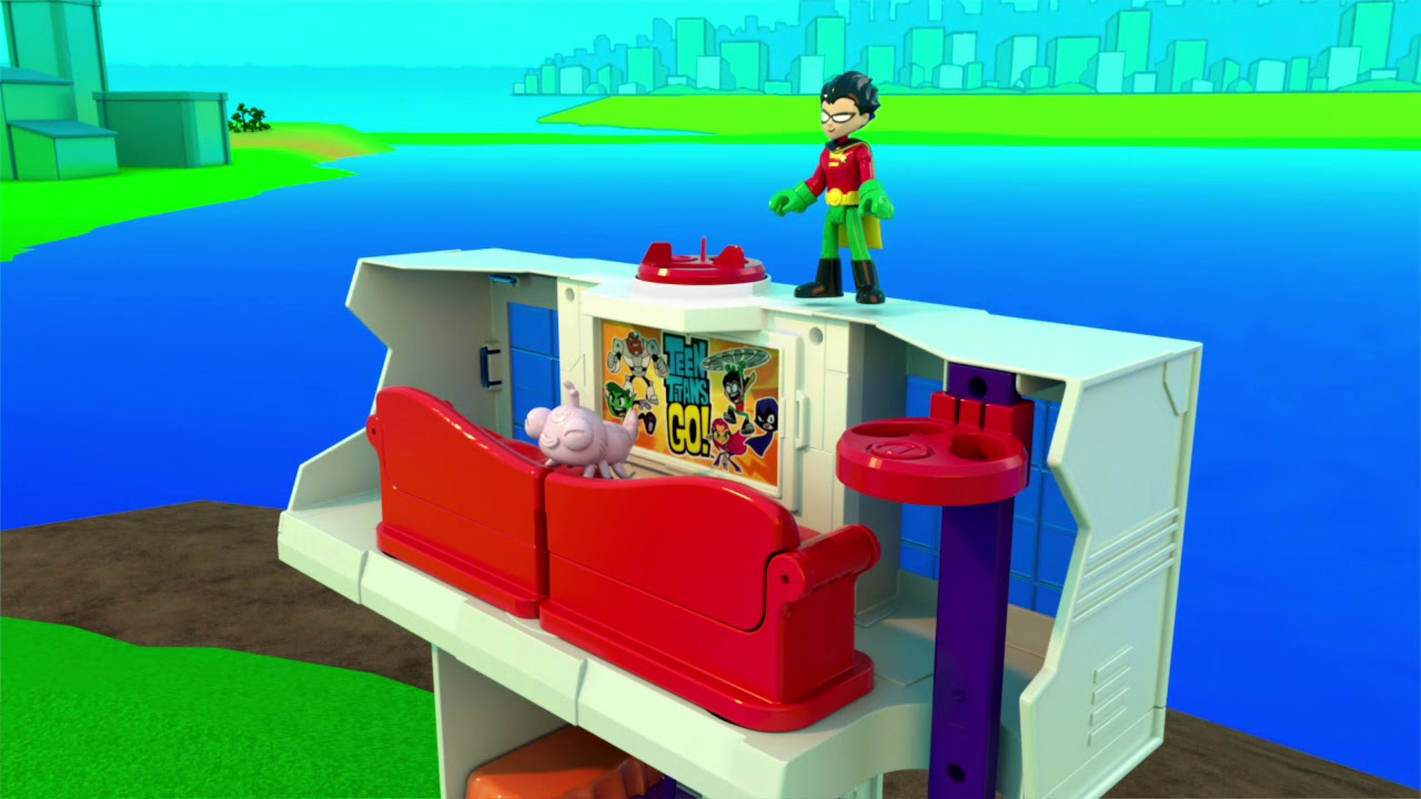 Fisher-Price Imaginext Teen Titans Go Tower  Toys R Us -9033