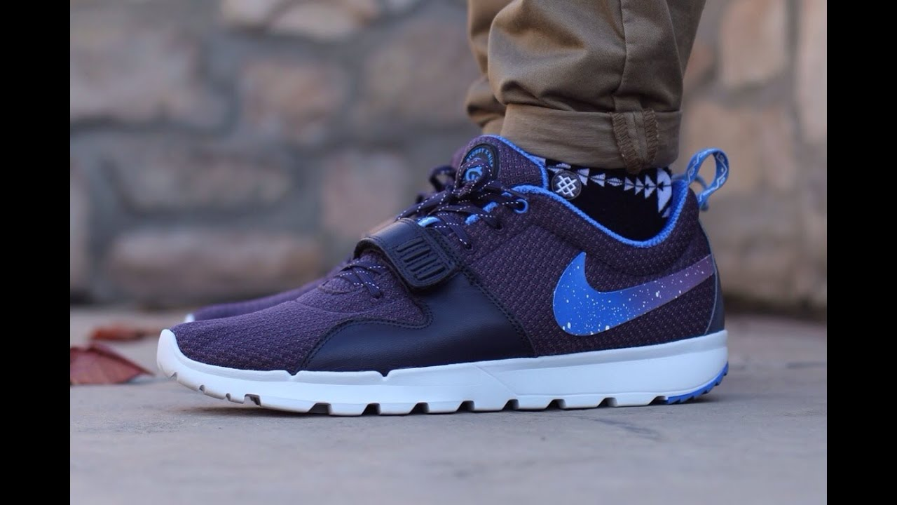 Nike X Stussy Trainerendor Quot Blueprint Quot On Feet Youtube