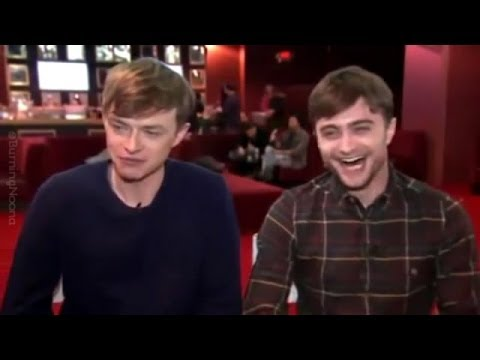 Daniel Radcliffe & Dane DeHaan Real-Life Bromance!