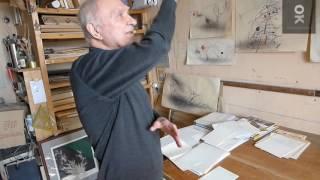 Интервью Юлия Перевезенцева Вере Калмыковой в мастерской художника. Открытый клуб