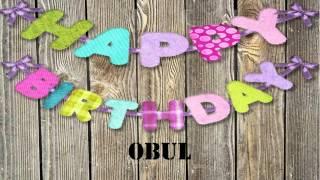 Obul   wishes Mensajes