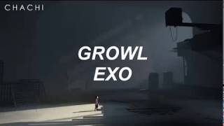 """GROWL""  엑소 #EXO - EASY LYRICS"