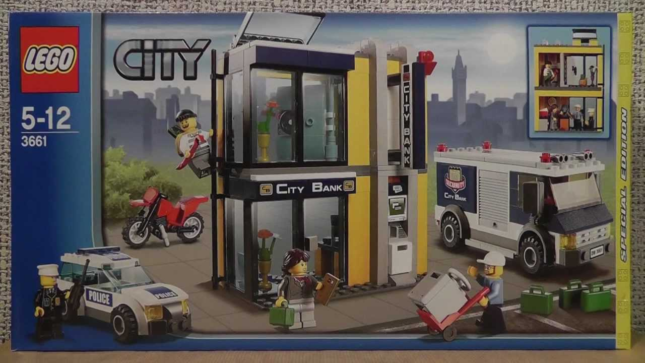 Lego City 3661 Przewóz Pieniędzy Youtube