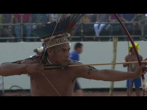 Athletes test skills at Brazil's Indigenous World Games